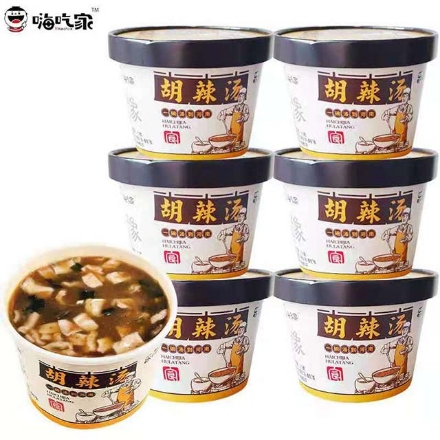 图片 Hi Chi Jia (Hu spicy soup, hot and sour noodles, golden soup noodles, hemp spicy noodles),1 barrel, 1*6 barrel | 嗨吃家(胡辣汤,酸辣粉,金汤爆粉,麻辣小面),1桶,1*6桶