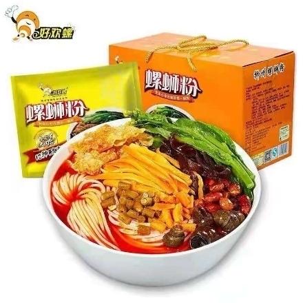图片 Haohuanluo snail noodles 400g,1 pack, 1*24 pack|好欢螺螺蛳粉400g,1包,1*24包