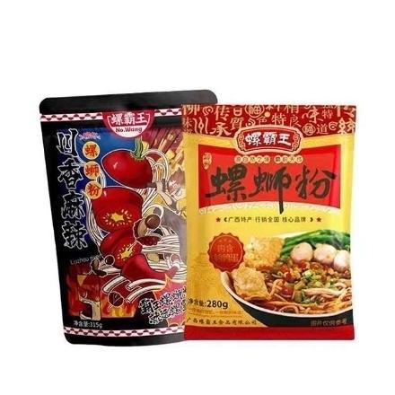 图片 Luo Bawang (Luosifen 280g,luosifen 315g),1 pack, 1*24 pack|螺霸王(螺狮粉280g,螺狮粉315g),1包,1*24包