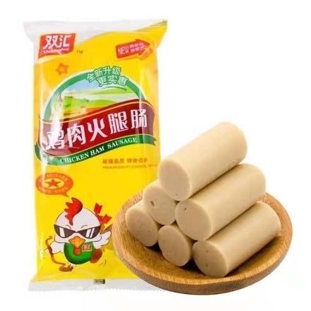 图片 Shuanghui Chicken Sausage 8 sticks of 240g,1 pack, 1*14 pack|双汇鸡肉肠8支240g,1包,1*14包
