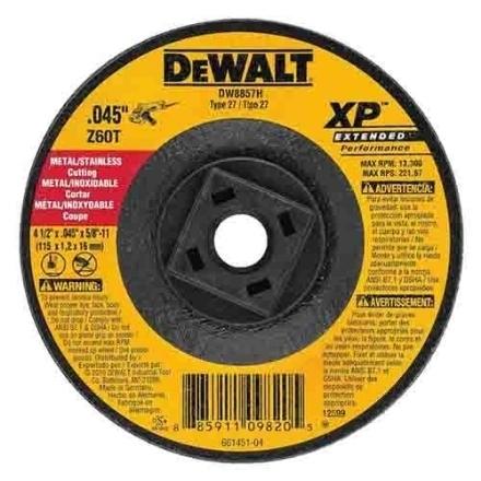 """Picture of Dewalt 4"""" Cutting Disc - DWA8060-B1"""