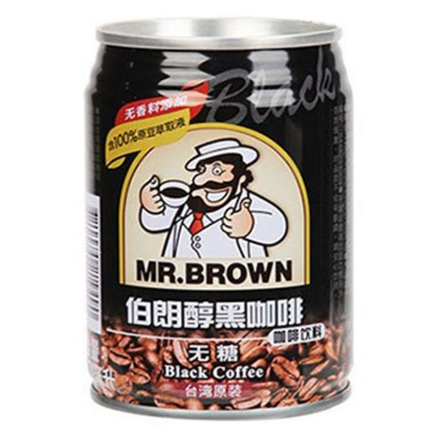 Picture of Mr. Brown Alcohol Black Coffee Sugar Free 240ml