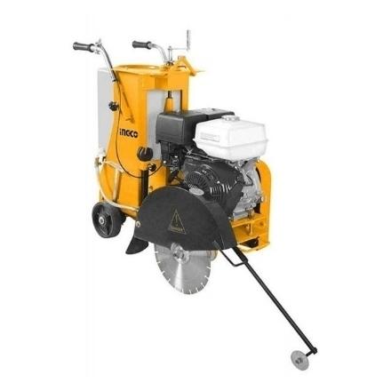 INGCO 35L Industrial Gasoline Floor Saw 9.6Kw (13HP) Manual Push Petrol Engine IPT, GSF16-2