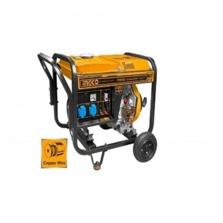 INGCO 3.5KVA Industrial Diesel Generator •BUILDMATE• IPT, GDE35001-5P