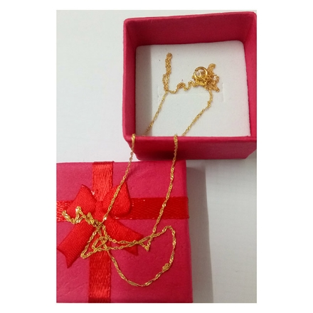 Picture of 18K -  Saudi Gold Jewelry Necklace Rope Chain
