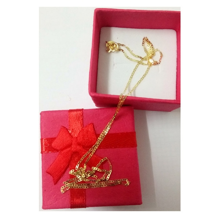 Picture of 18K -  Saudi Gold Jewelry Necklace w/ Pendant