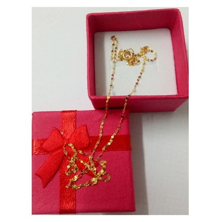 Picture of 18K -  Saudi Gold Jewelry Necklace Link Chain