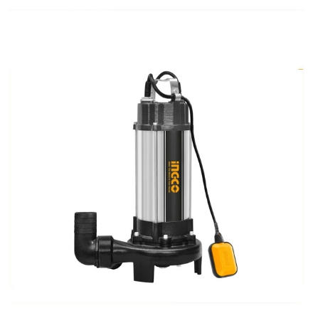 INGCO 1500W 2HP Industrial Sewage Submersible Pump w/ Floater switch and Control Box, SPDB15001-5