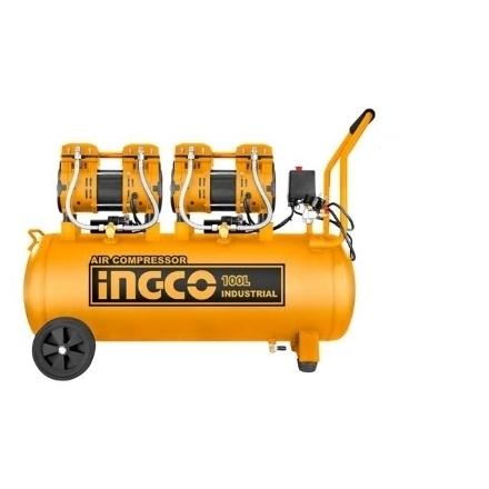 INGCO 4HP 100L Oil-Free Industrial Air Compressor, ACS2241001P