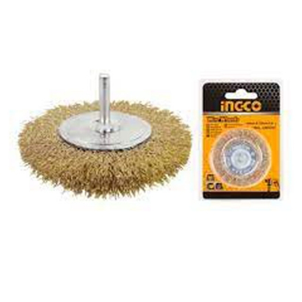 """INGCO Original Wire Wheels Brush for Drill 4""""(75mm), WB41001"""