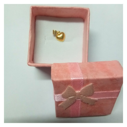 Picture of 18K - Saudi Gold Jewelry Heart Pendant